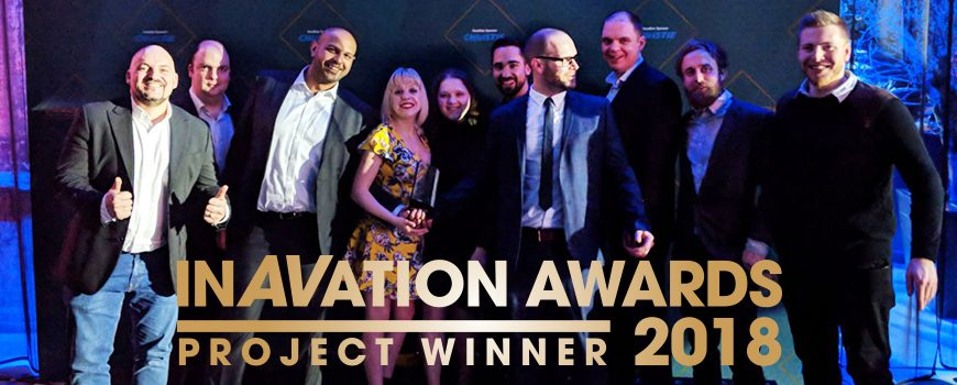 Vanti win at 2018 InAVation Awards - with logo